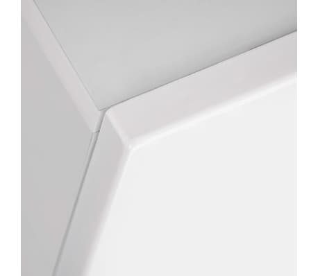 vidaXL TV-møbelsæt i 8 dele med LED-lys højglans hvid[15/16]