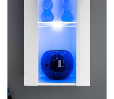 vidaXL TV-møbelsæt i 8 dele med LED-lys højglans hvid[8/16]