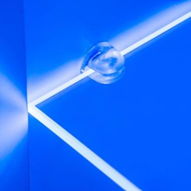 vidaXL TV-møbelsæt i 8 dele med LED-lys højglans hvid[5/16]