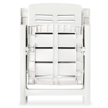 127c48349a14 vidaXL Sklápacie plastové záhradné stoličky