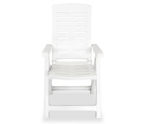vidaxl verstellbare gartenst hle 6 stk 60x61x108 cm. Black Bedroom Furniture Sets. Home Design Ideas