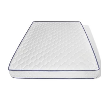 vidaXL Lova su Memory čiužiniu, tamsiai pilkos sp., 140x200cm, audinys[12/17]
