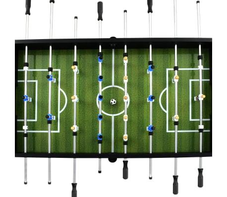 vidaXL Stalo futbolo stalas, plienas, 60 kg, 140x74,5x87,5cm, juodas[4/11]