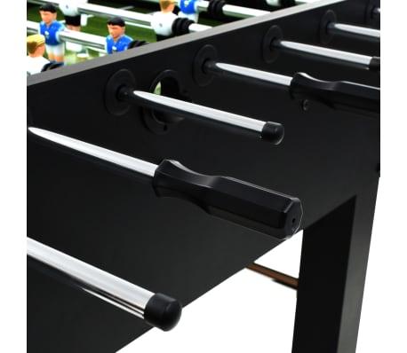 vidaXL Stalo futbolo stalas, plienas, 60 kg, 140x74,5x87,5cm, juodas[8/11]