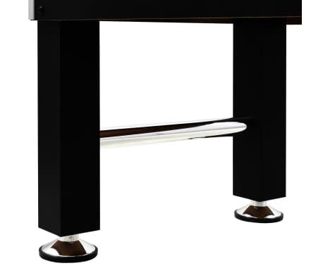 vidaXL Stalo futbolo stalas, plienas, 60 kg, 140x74,5x87,5cm, juodas[10/11]