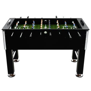 vidaXL Table de football Acier 60 kg 140 x 74,5 x 87,5 cm Noir[2/11]