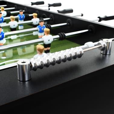 vidaXL Stalo futbolo stalas, plienas, 60 kg, 140x74,5x87,5cm, juodas[7/11]