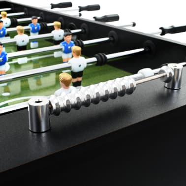 vidaXL Table de football Acier 60 kg 140 x 74,5 x 87,5 cm Noir[7/11]