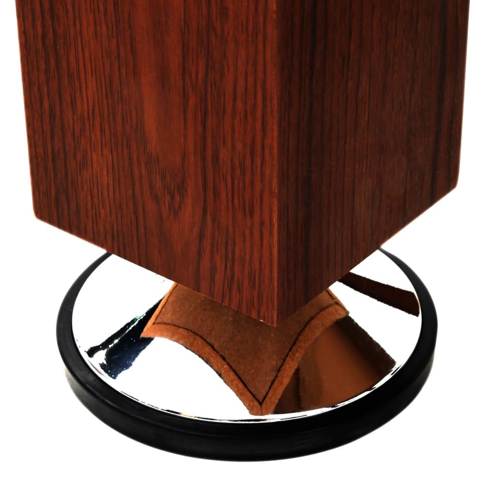 vidaXL Nogometni Stol 60 kg 140 x 74,5 x 87,5 cm Smeđi