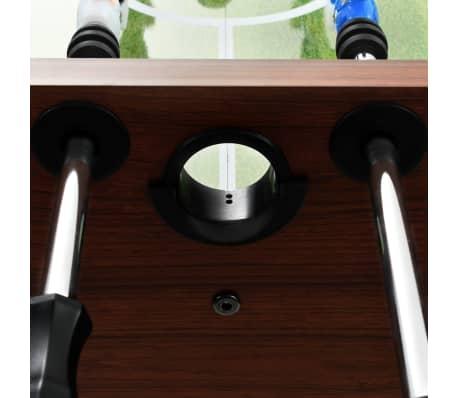 vidaXL Stalo futbolo stalas, plienas, 60 kg, 140x74,5x87,5cm, rudas[9/11]
