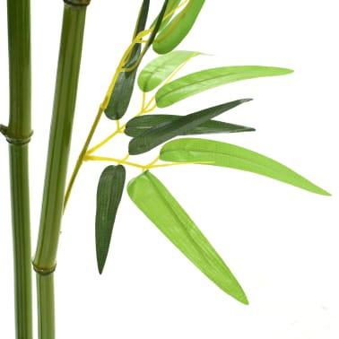 vidaXL kunstig bambusplante med krukke 150 cm grøn[2/3]