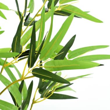 vidaXL kunstig bambusplante med krukke 150 cm grøn[3/3]