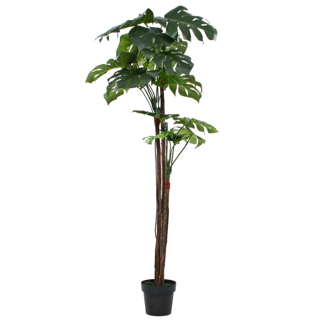 vidaXL Plantă artificială Monstera cu ghiveci 170 cm Verde imagine vidaxl.ro