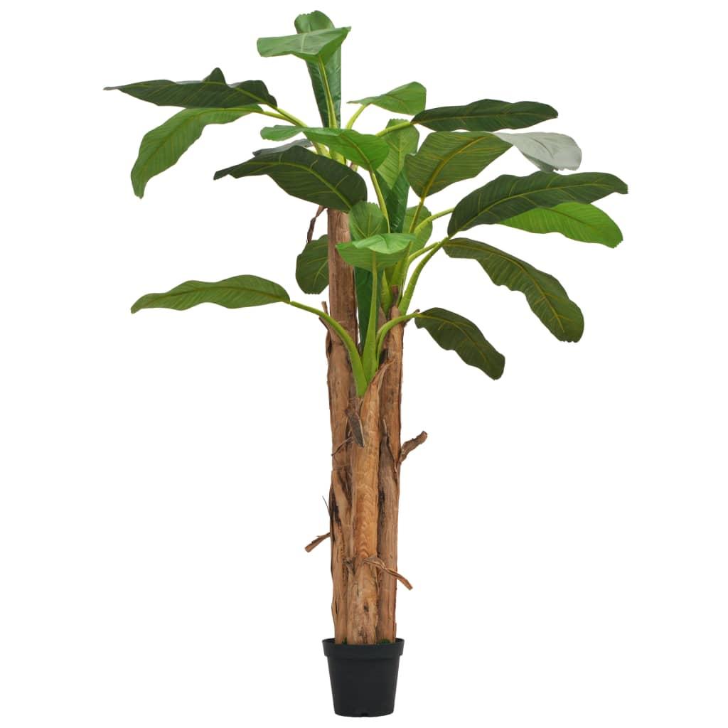vidaXL Bananier artificial cu ghiveci, 250 cm, verde vidaxl.ro