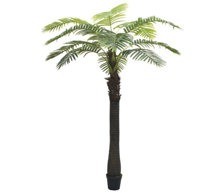 vidaXL Artificial Palm Tree with Pot 310 cm Green