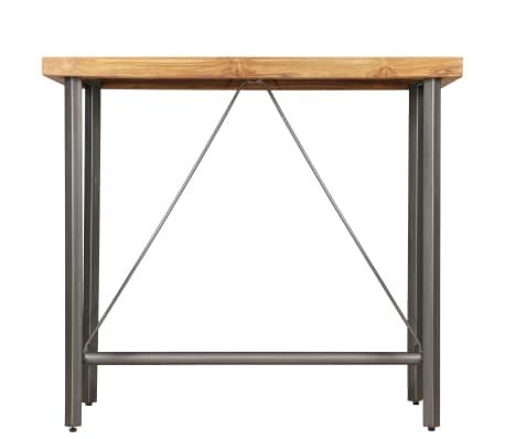 vidaXL Bar Table Solid Reclaimed Teak 120x58x106 cm[3/13]