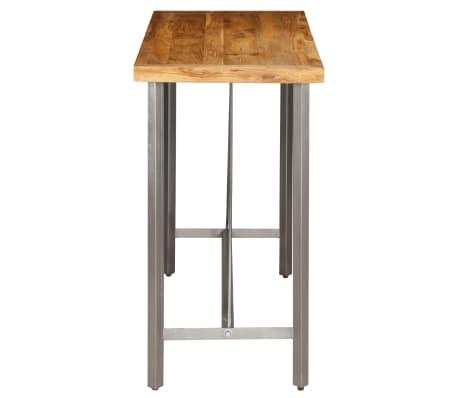vidaXL Bar Table Solid Reclaimed Teak 120x58x106 cm[4/13]