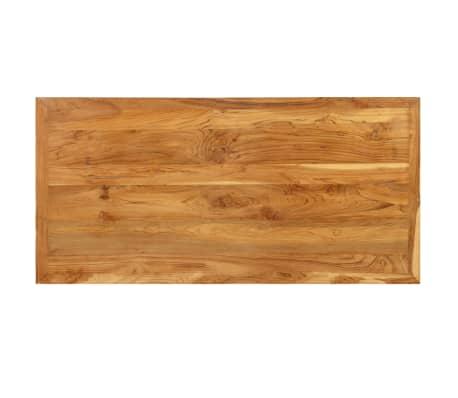 vidaXL Bar Table Solid Reclaimed Teak 120x58x106 cm[6/13]