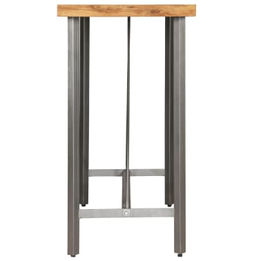 vidaXL Bar Table Solid Reclaimed Teak 120x58x106 cm[5/13]