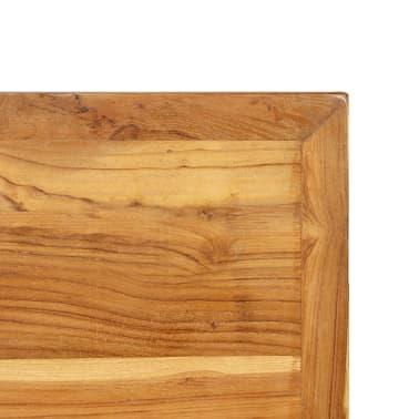 vidaXL Bar Table Solid Reclaimed Teak 120x58x106 cm[8/13]