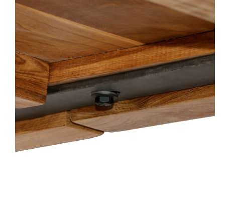 vidaXL Barový stůl z masivního recyklovaného teaku 150 x 70 x 106 cm[11/17]