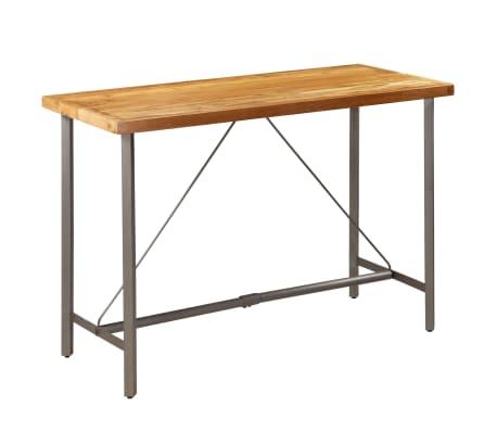 vidaXL Barový stůl z masivního recyklovaného teaku 150 x 70 x 106 cm[14/17]