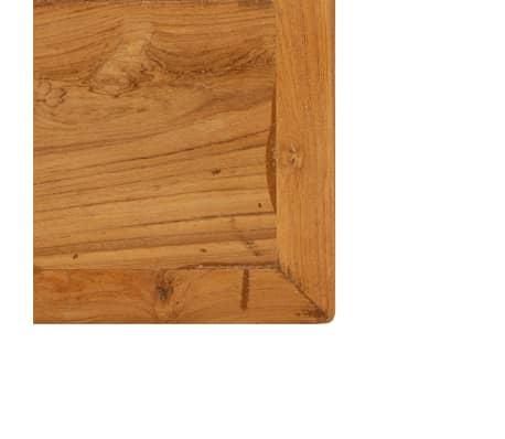 vidaXL Barový stůl z masivního recyklovaného teaku 150 x 70 x 106 cm[7/17]