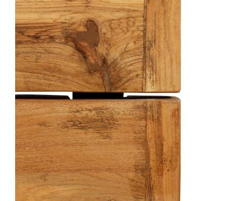 vidaXL Barový stůl z masivního recyklovaného teaku 150 x 70 x 106 cm[8/17]