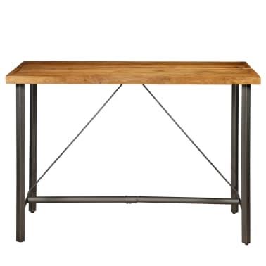 vidaXL Barový stůl z masivního recyklovaného teaku 150 x 70 x 106 cm[3/17]