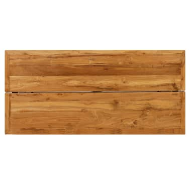 vidaXL Barový stůl z masivního recyklovaného teaku 150 x 70 x 106 cm[6/17]
