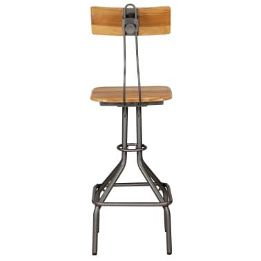 vidaXL Barska garnitura 3-delna iz trdne predelane tikovine[11/30]