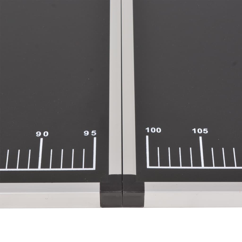 Kokkupandav tapeetimislaud, MDF ja alumiinium 200 x 60 x 78 cm