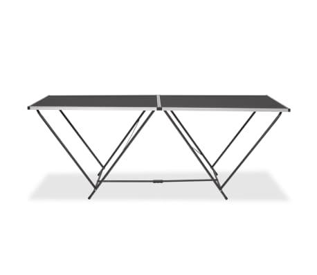 vidaXL Table pliable de collage MDF et aluminium 200 x 60 x 78 cm[2/6]