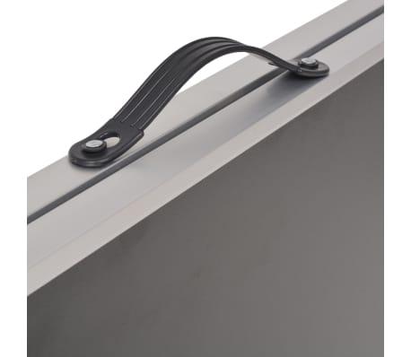 vidaXL Table pliable de collage MDF et aluminium 200 x 60 x 78 cm[5/6]