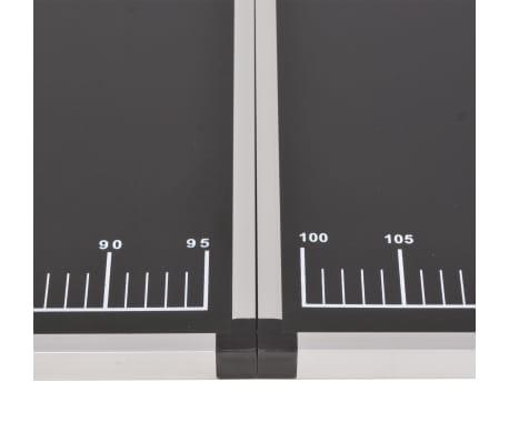 vidaXL Table pliable de collage MDF et aluminium 200 x 60 x 78 cm[6/6]