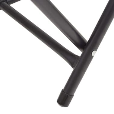 vidaXL Table pliable de collage MDF et aluminium 200 x 60 x 78 cm[3/6]