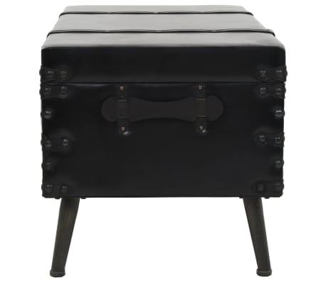 vidaXL Kavos staliukas, MDF ir plienas, 102x51x48cm[3/9]