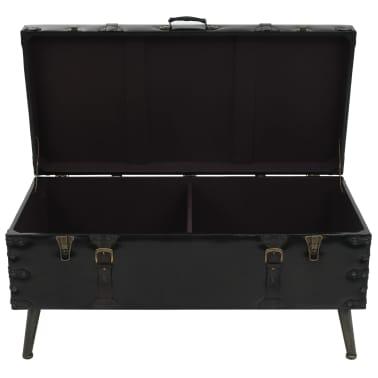 vidaXL Kavos staliukas, MDF ir plienas, 102x51x48cm[6/9]