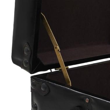vidaXL Kavos staliukas, MDF ir plienas, 102x51x48cm[7/9]