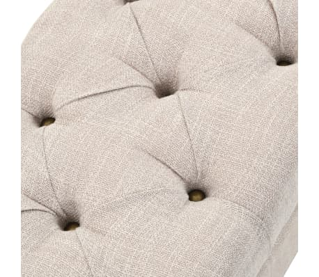 vidaXL Set 3 kom klupe za pohranu od masivnog drva i čelika 112 x 37 x 45 cm[12/14]