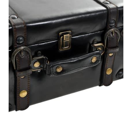 vidaXL Suoliukas-daiktadėžė, MDF ir dirbtinė oda, 120x41x46,5cm[9/11]