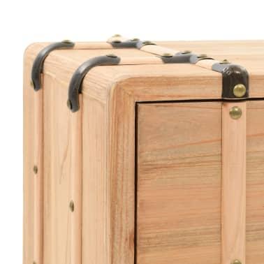 vidaXL Naktinis staliukas, eglės mediena, 50x35x57cm[5/8]
