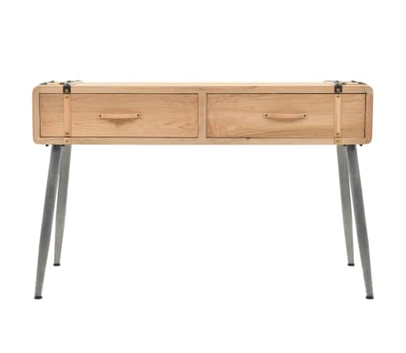 vidaXL Table console Bois massif de sapin 115 x 40,5 x 76 cm[2/9]