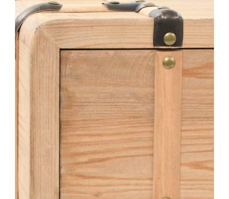 vidaXL Table console Bois massif de sapin 115 x 40,5 x 76 cm[8/9]