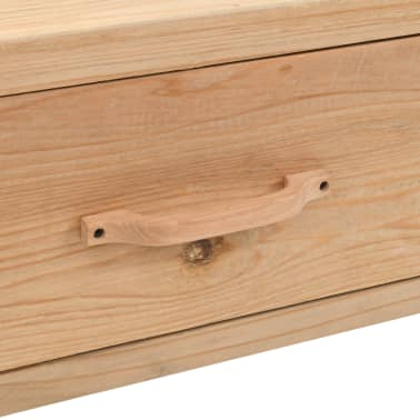 vidaXL Televizoriaus spintelė, masyvi eglės mediena, 120x33x35cm[7/9]