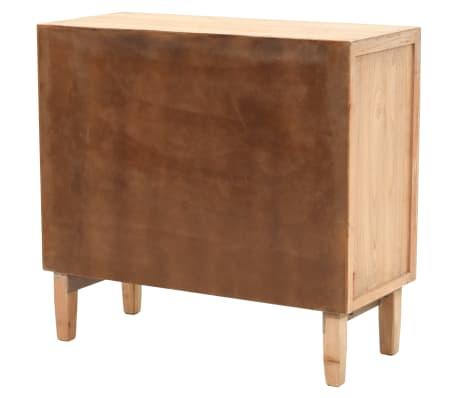 vidaXL Szafka z szufladami, lite drewno jodłowe, 80 x 36 x 75 cm[3/10]
