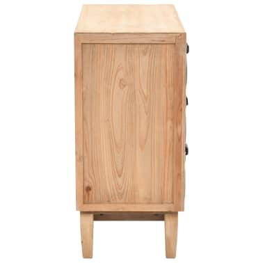 vidaXL Szafka z szufladami, lite drewno jodłowe, 80 x 36 x 75 cm[4/10]