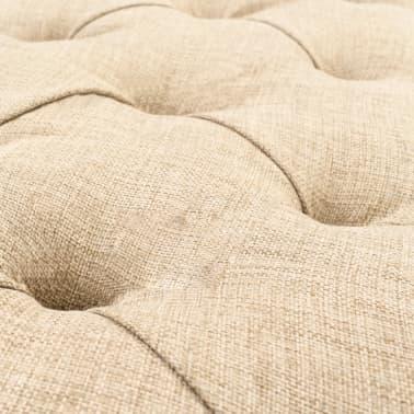vidaXL Sitzbank mit Stoffpolsterung 148,5 × 35 × 71,5 cm[5/7]