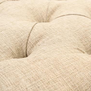 vidaXL Sitzbank mit Stoffpolsterung 148,5 × 35 × 71,5 cm[6/7]