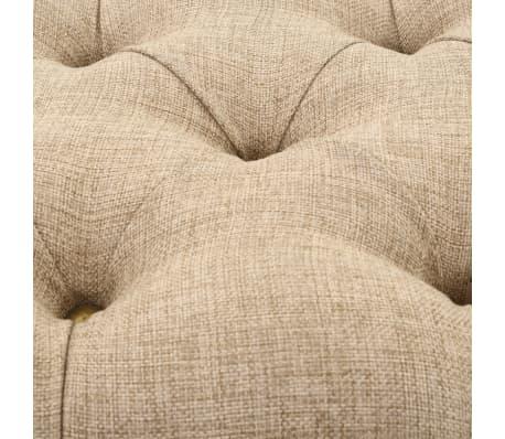 vidaXL Sitzbank mit Stoffpolsterung 185,5 × 36 × 72,5 cm[5/7]